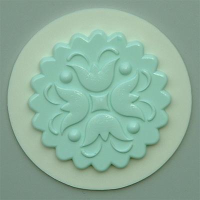 Silikonová forma cupcake květina