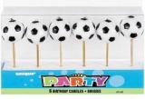 Fotbalové svíčky  6 ks