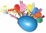 Balonky pískací - frkačky