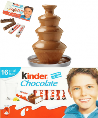 Kinder extra mléčná čokoláda do fontány  500 g