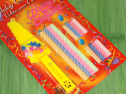 Svíčky narozeninové set s lopatkou