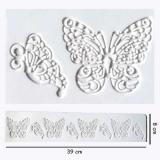 Silikonová forma na krajky motýlci