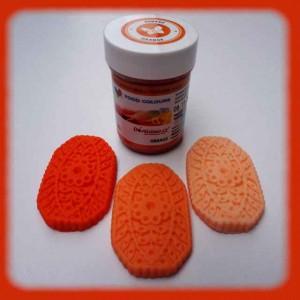 Gelová barva orange - oranžová