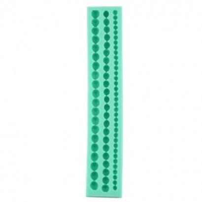 Silikonová forma perly 3 velikosti