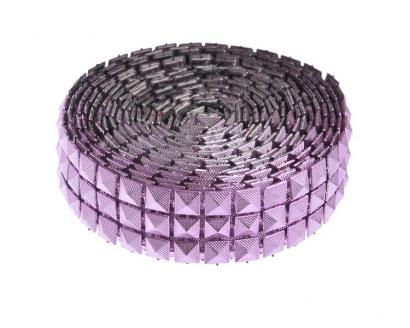 Dekorační pásek lila  2,5 cm