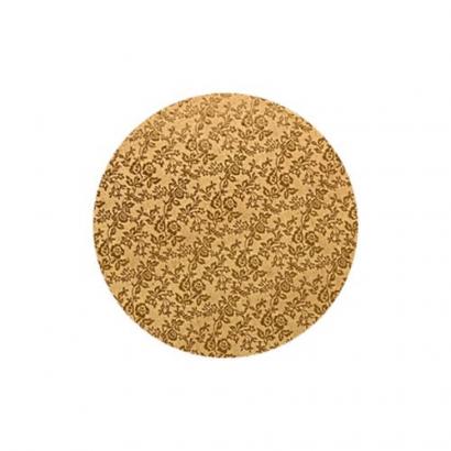 Podložka pod dort zlatá  extra 30 cm