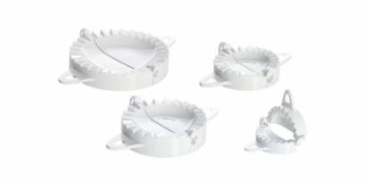 Formy na plněné pečivo  4 ks
