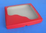 Krabička na cukroví červená na 0,5 kg