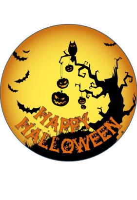 Jedlý papír halloween 3