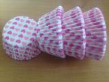 Papírové košíčky srdíčkové  80 ks