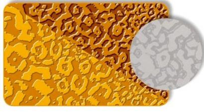 Strukturovací podložka leopard