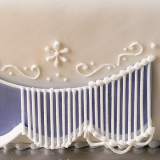1 kg královská glazura na zdobení perníčků a dortů