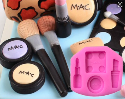 Silikonová forma make up mac