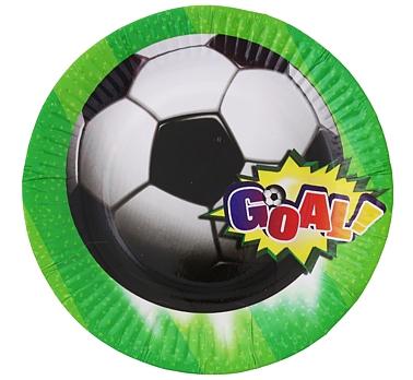 Party narozeninové talířky fotbal