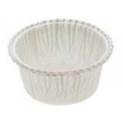 Košíček papírový na muffiny - velký bílý 25 ks