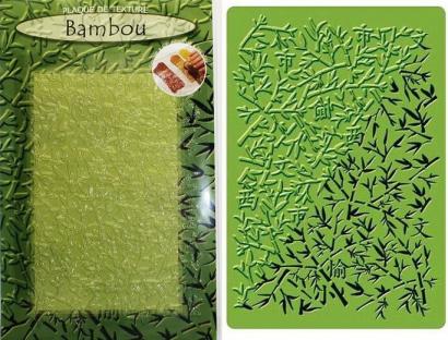 Strukturovací podložka bambus