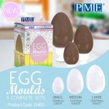 Plastová forma na vejce  3 velikosti