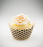 Košíčky na cupcakes  12 ks  perleť - obloučky
