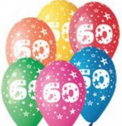 Balonek  30 cm číslo  60