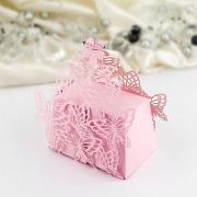Krabička motýlková malá růžová 1 ks