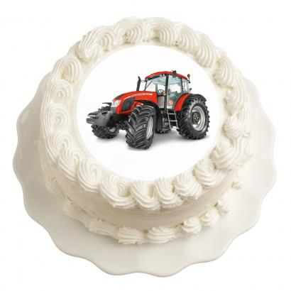 Jedlý papír traktor zetor