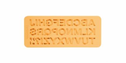 Silikonová forma abeceda klasická