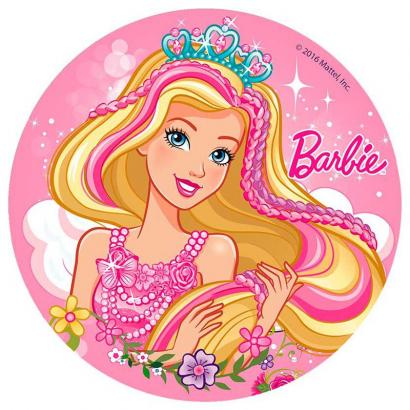 Jedlý papír barbie 2