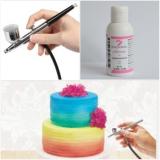 Barva do airbrush růžová  100 g