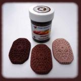 Gelová barva chocolate brown - hnědá