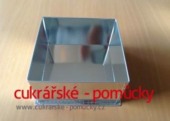 Dortová forma čtverec  10 x 10 cm