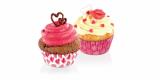 Cukrářské košíčky srdce  6 cm 60 ks