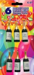 Narozeninové svíčky šampaňské
