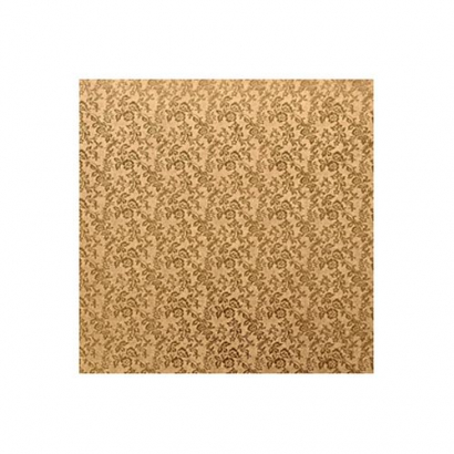 Podložka pod dort zlatá čtverec extra 30 x 30 cm