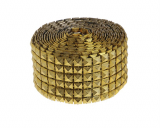 Dekorační pásek  zlatý 5 cm