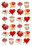 Jedlý papír valentýn  2