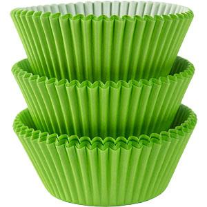 Cukrářské košíčky zelené  80 ks