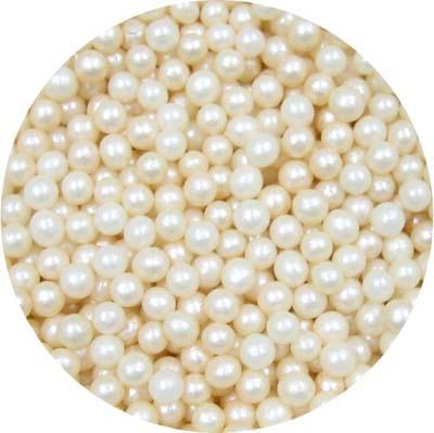 Ivory perleťové kuličky