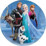 Jedlý papír frozen - ledové království 4
