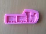 Silikonová forma vlak