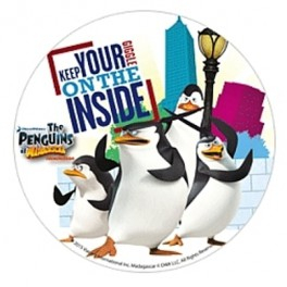 Jedlý papír tučňáci madagaskar 2