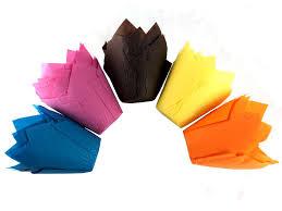 Tulipan - papírový košíček mix na muffiny 60 ks