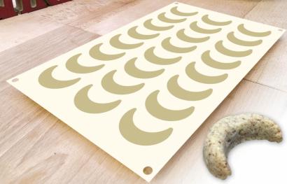 Silikonová forma rohlíčky