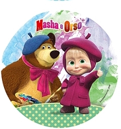 Jedlý papír masha a medvěd 7