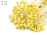 Pestíky světle žluté  160 ks