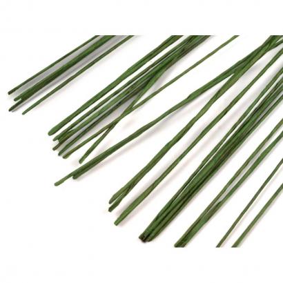 Aranžovací dráty  tmavě zelené 24 ( 0,51 mm )