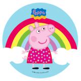 Jedlý papír  peppa pig 7