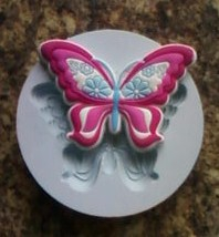 Silikonová forma motýl 2
