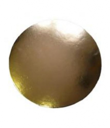 Podložka dortová zlatá 30 cm