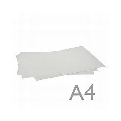 Jedlý papír a4  bílý