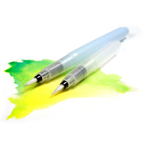 Vodní pero , plnící štětec 1 ks